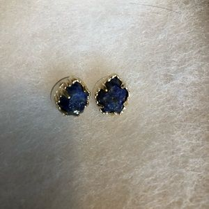 KS Tessa stud earrings lapis blue